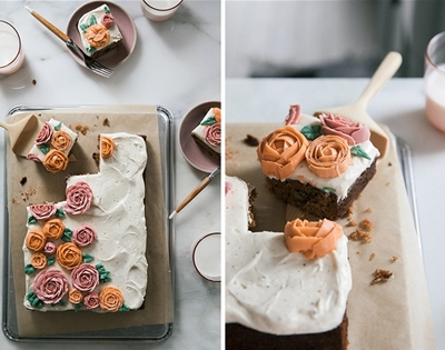 the dreamiest carrot cake