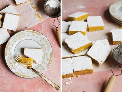 pistachio lemon curd bars