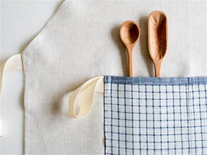 simple linen apron diy