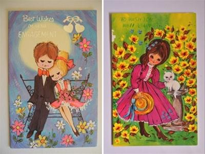 sweet 'n' kitsch vintage greeting cards