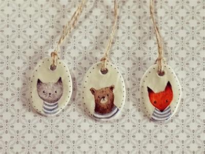 animal friends pendant