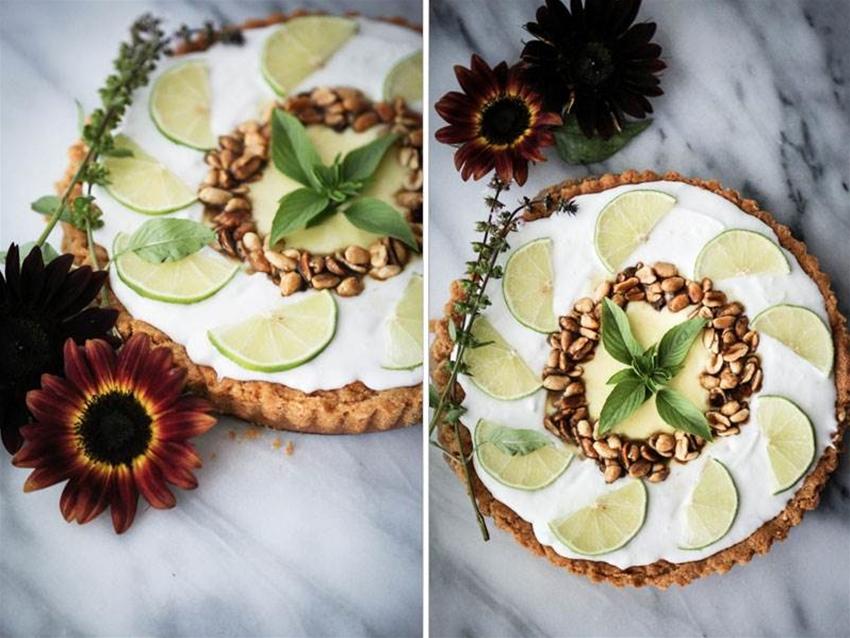 """""""thai"""" lime tart"""
