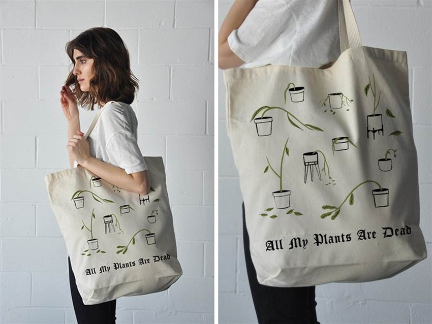 all my plants are dead tote