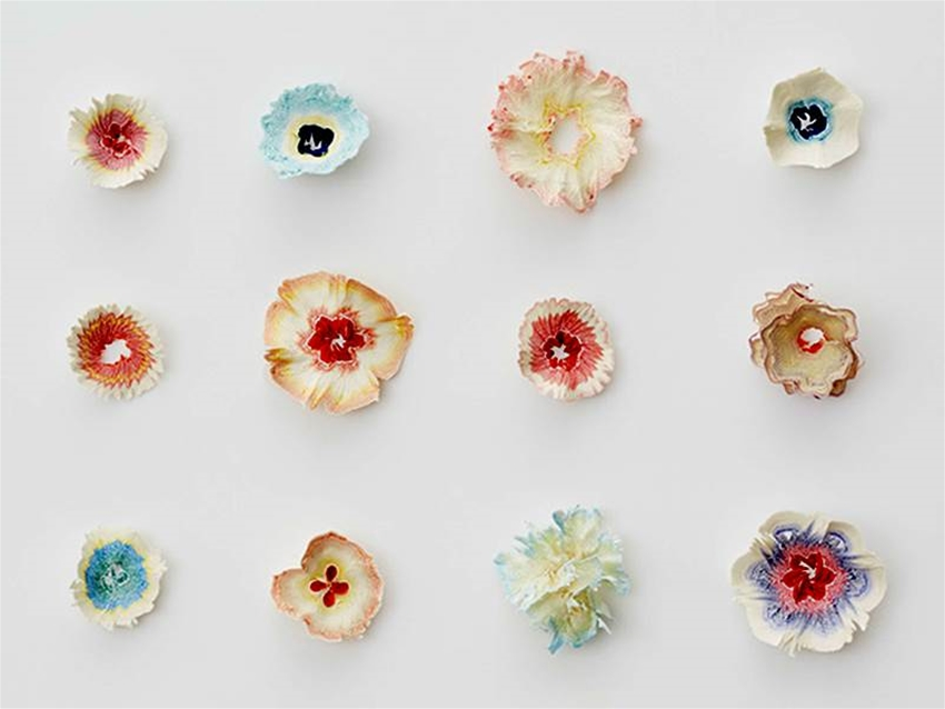 pencil shaving flowers