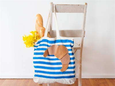 frankie exclusive diy: easy-peasy picnic tote