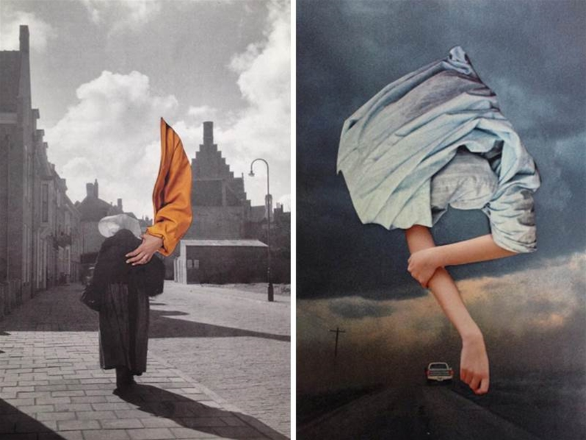 nicola kloosterman's collages