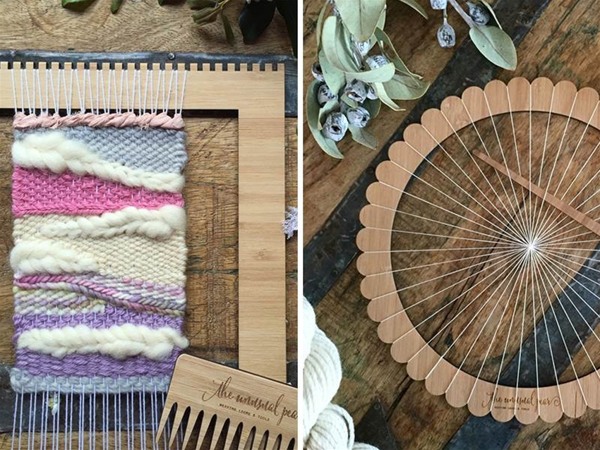 the unusual pear weaving kits