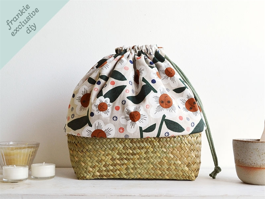 frankie exclusive diy: basket bag
