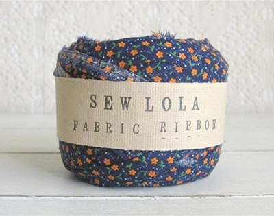 vintage fabric ribbon