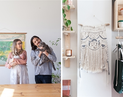 the creative couple running a shop and fun workshops