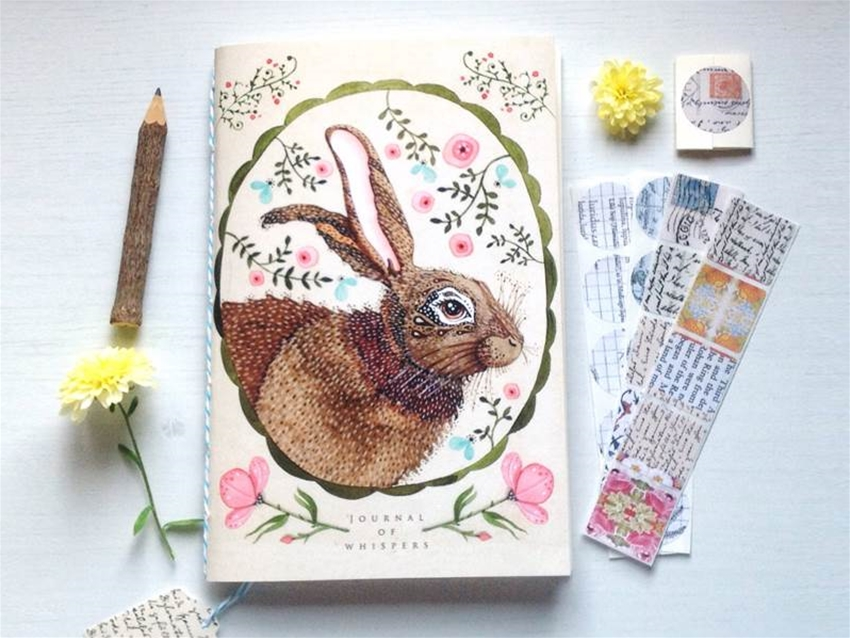 lily moon's illustrated stationery