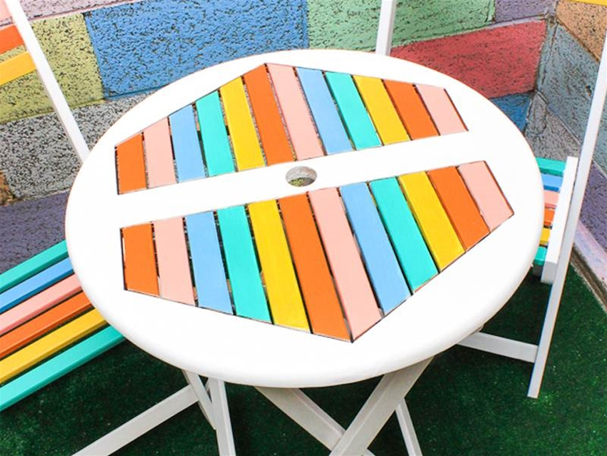 diy outdoor table makeover