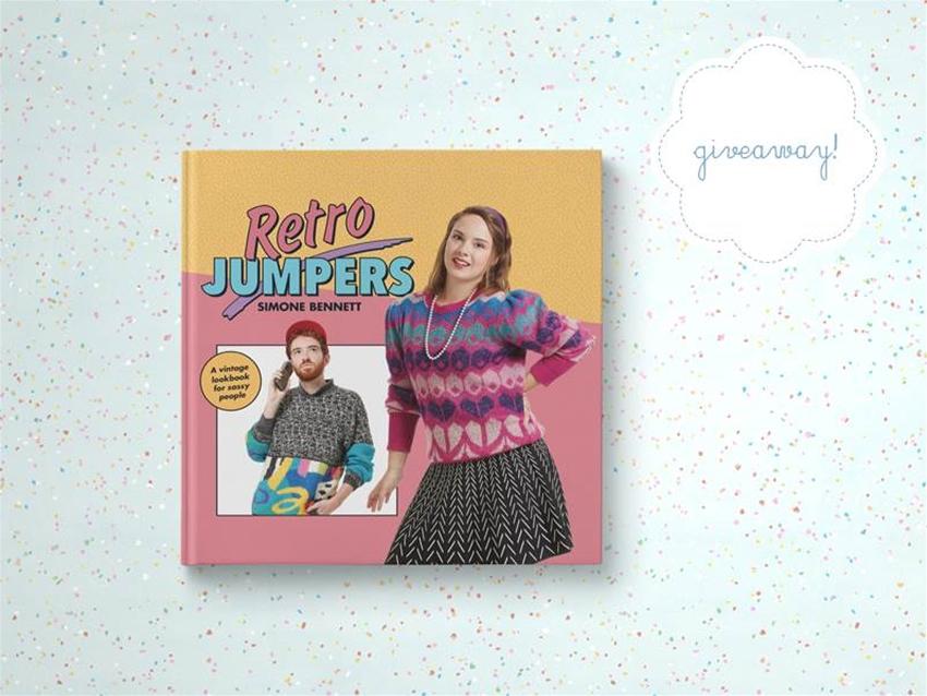 stuff mondays – retro jumpers book