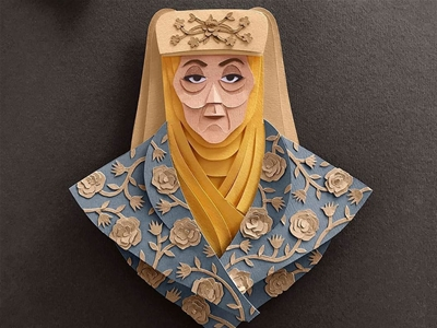 game of thrones papercuts
