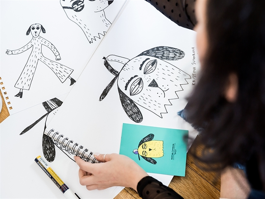 a lovely little chinwag with illustrator kristina suvorova
