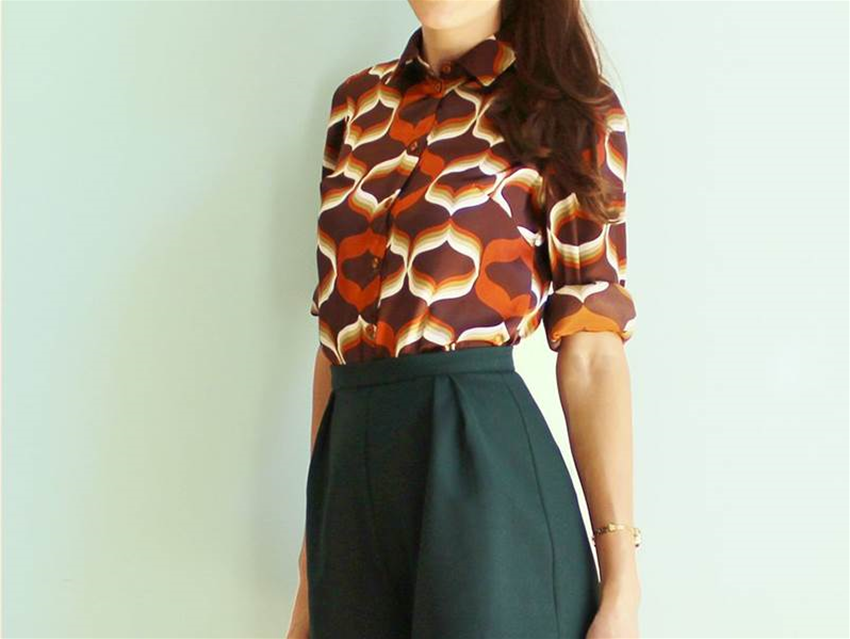 that '70s blouse