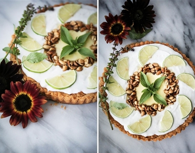 """thai"" lime tart"