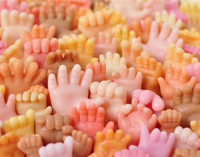 hand-shaped soaps