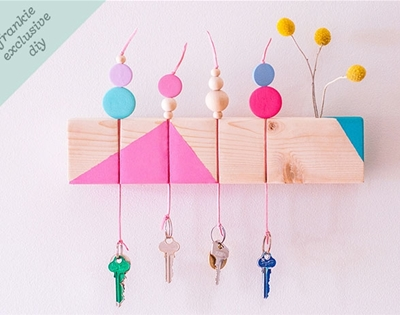 frankie exclusive diy: keyring holder