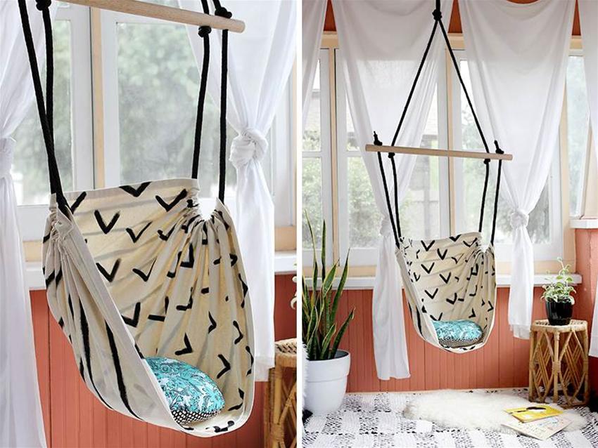 diy swinging hammock chair
