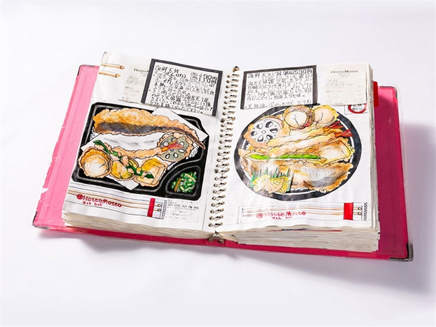 peek inside the lifelong food diary of a japanese chef