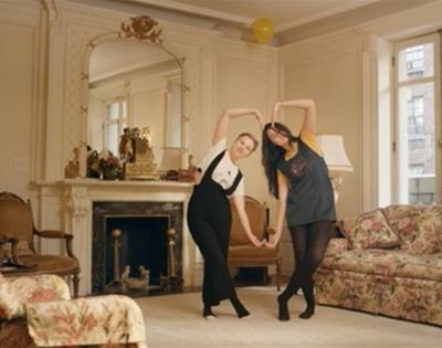 rachel antonoff's new cameo-filled video