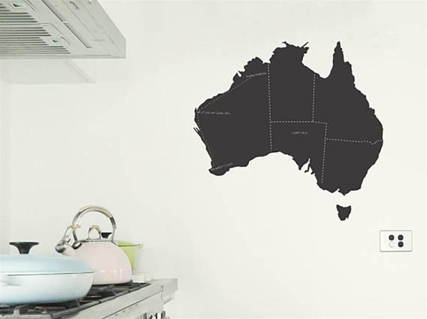 moonface studio's map of down under