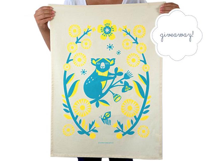 stuff mondays – earth greetings tea towels