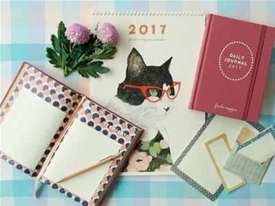 2017 frankie diary and calendar on sale