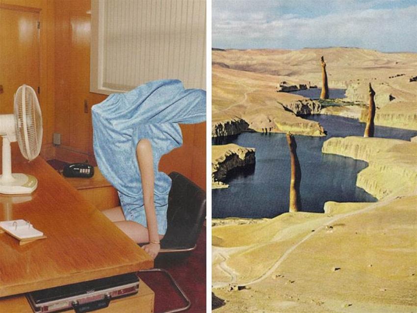 anna bu kliewer's surreal scenes
