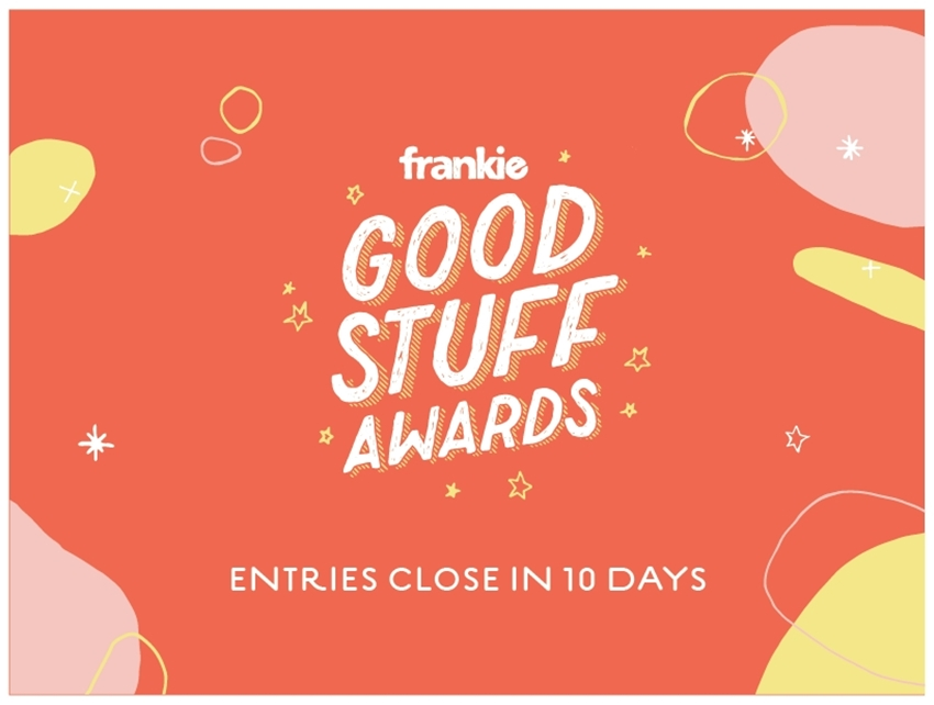 good stuff awards are closing in 10 days