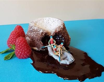 teensy dessert dioramas