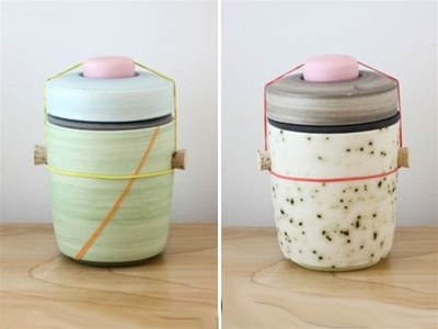 ben fiess utilitarian ceramic jars