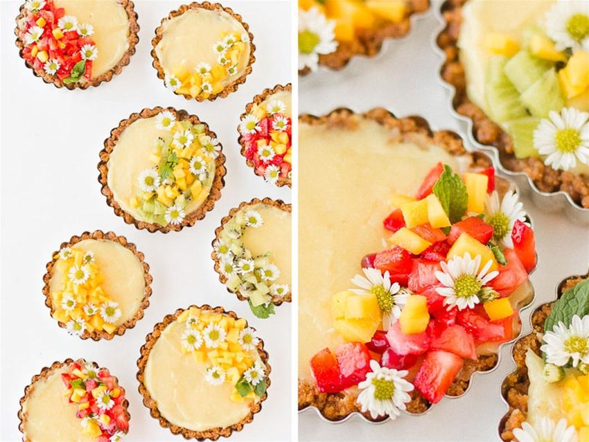 four-ingredient lemon tart