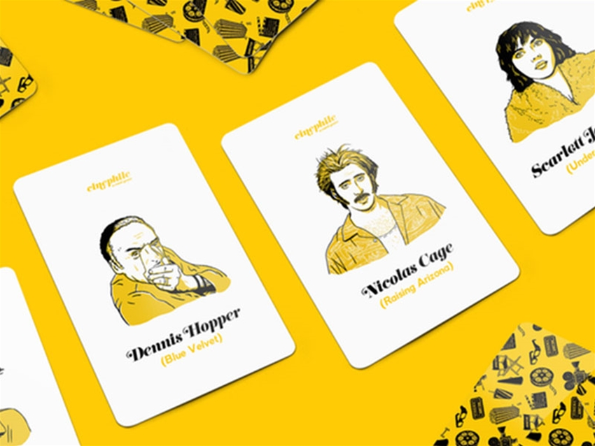 cinephile – a card game for movie buffs