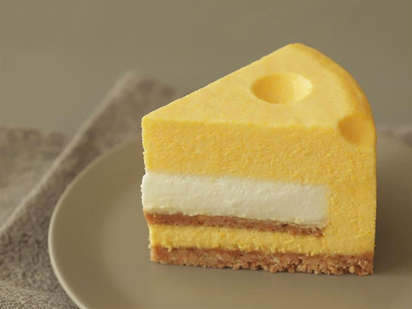 the cheesiest cheesecake we ever did see