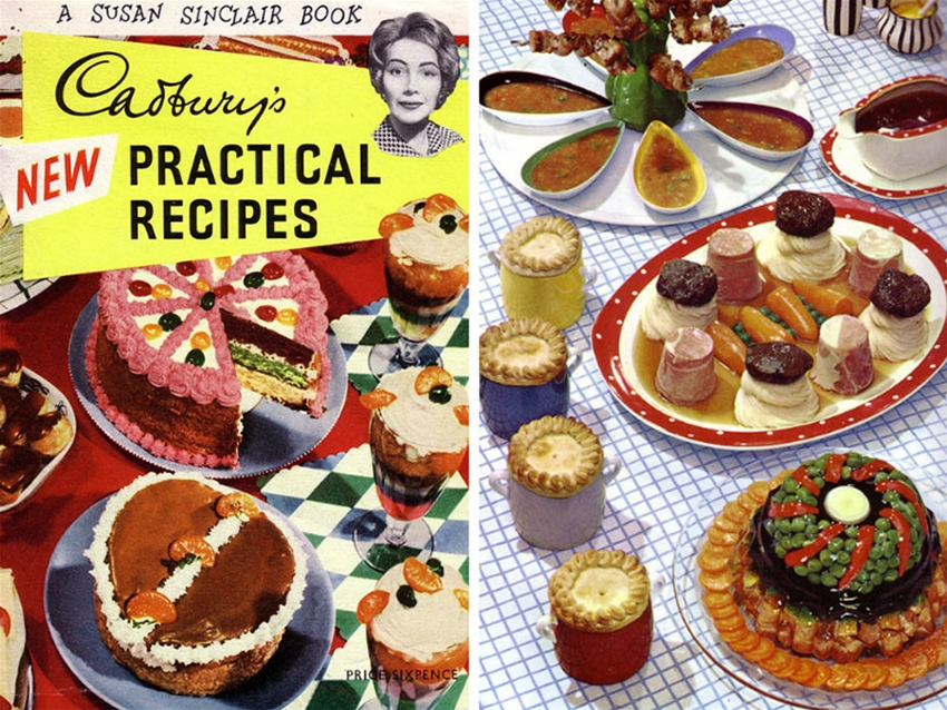 get a load of these mid-century meals