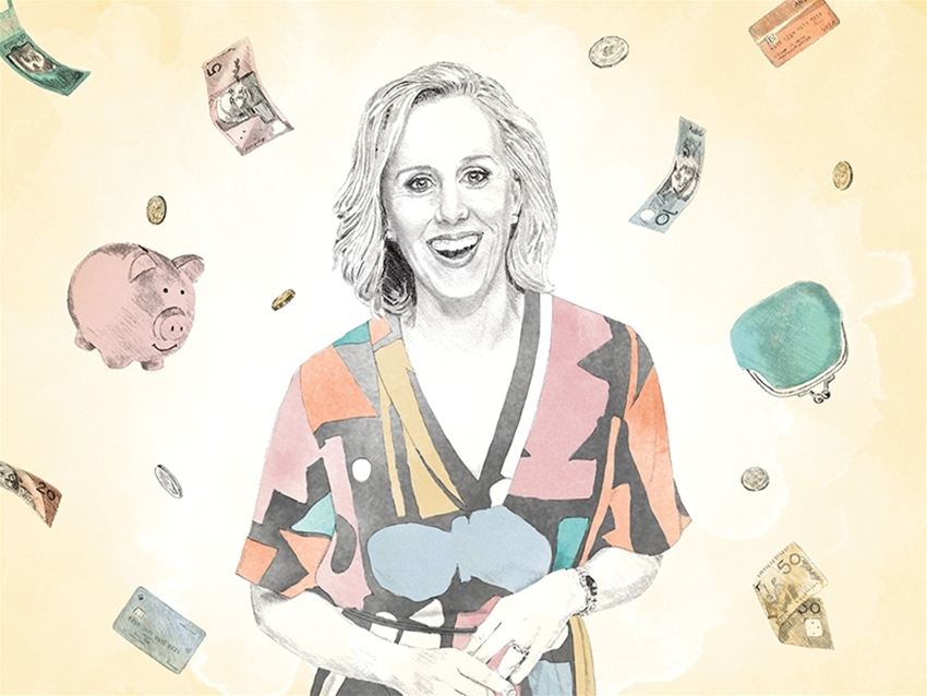 a super-simple guide to sorting out your finances with... claire hooper
