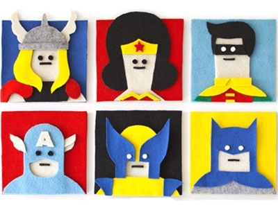 artist interview - jacopo rosati's fuzzy felt collages