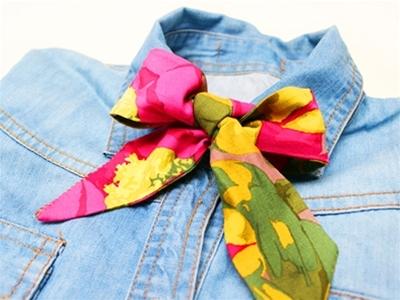 frankie exclusive diy: easy peasy bow tie
