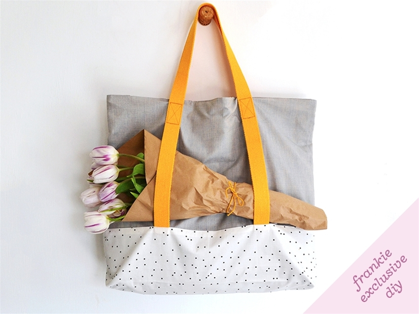 frankie exclusive diy: overnight bag