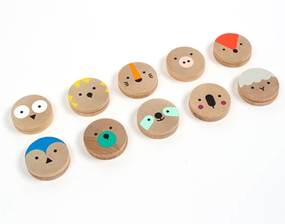 wooden memory game for kids (and big kids)