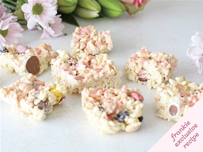 frankie fodder: easter white chocolate crackles