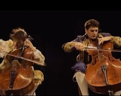 acka dacka on cello