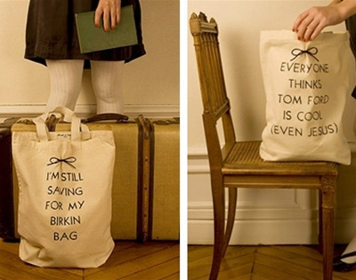 maude and tilda anti-fashion tote bags