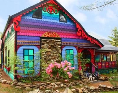 kat o'sullivan's rainbow home