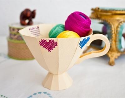 diy downloadable paper cup