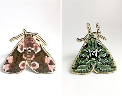 max alexander's knitted moths