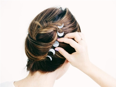 six diy hair clips to spruce up your locks