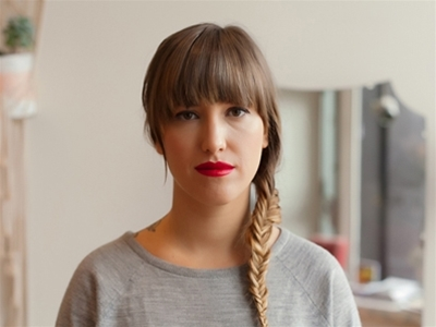 get fancy: a bold lip how-to